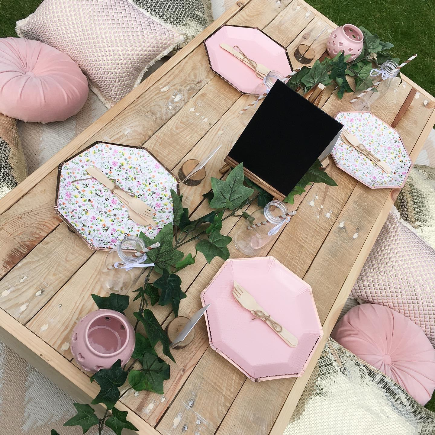 luxe picnic party bournemouth