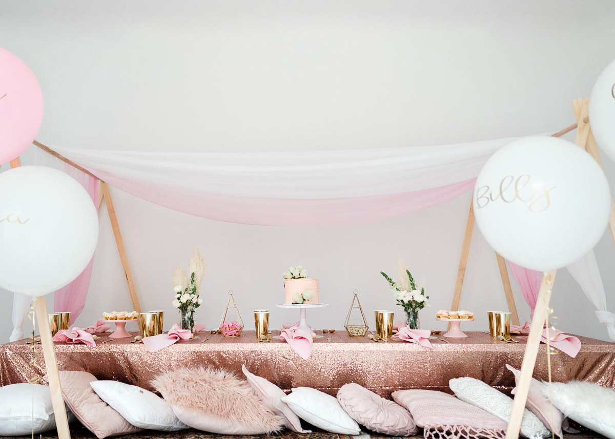 Luxury Picnic Tea Party Table Hire