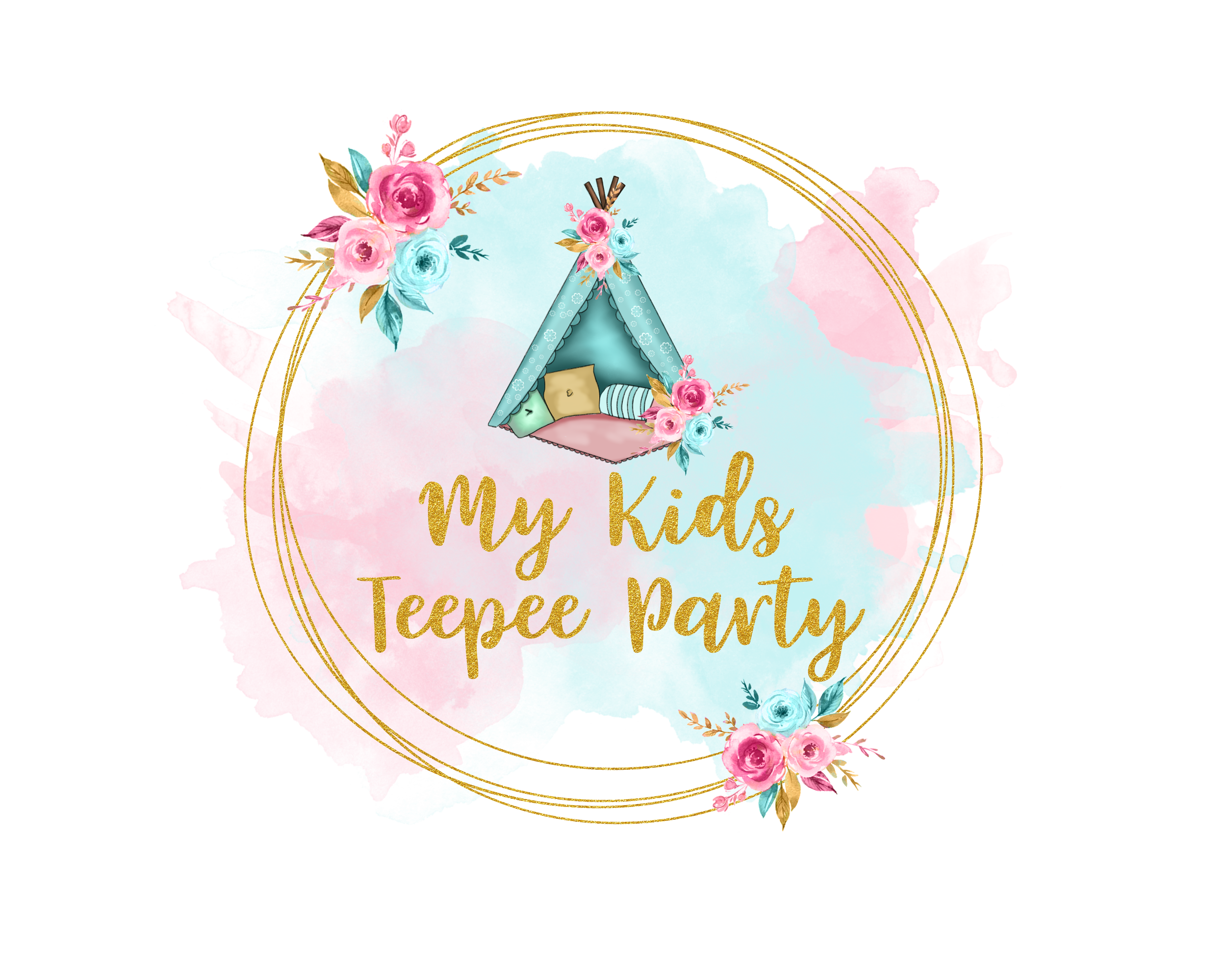 My Kids Teepee Party
