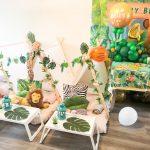 Safari jungle party theme